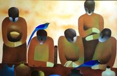 Người thổi sáo: Khi nhà thơ Nguyễn Quang Thiều đem thi ca vào hội họa