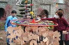 Chương trình Tết tại Hoàng thành hạn chế người tham gia nghi lễ