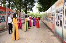 Trưng bày hơn 300 bức ảnh tư liệu về tấm gương đạo đức Hồ Chí Minh
