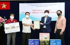 Tập đoàn TH tiếp tục trao tặng TP.HCM hơn 500.000 sản phẩm