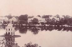 Ngắm nhìn Hồ Gươm - 'trái tim' Thủ đô qua hình ảnh tư liệu thế kỷ 19