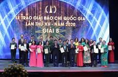 Năm thứ 9 liên tiếp VietnamPlus đạt giải cao tại Giải Báo chí Quốc gia