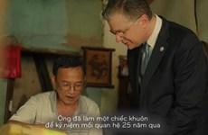 Khuôn bánh Trung Thu 25 năm Việt-Mỹ và nghệ nhân phố cổ cuối cùng