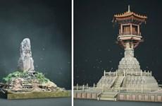 Nhóm nghiên cứu 8x dùng công nghệ 3D phục dựng tháp cổ chùa Dạm