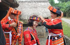 [Photo] Nét độc đáo trong lễ cưới truyền thống của người Pà Thẻn