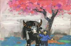 Tiễn Tí đón Sửu 'khoe' 80 tác phẩm phác họa về 'đầu cơ nghiệp'