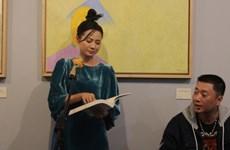 Khai mạc triển lãm tranh Lê Thiết Cương tri ân nhà thơ Đặng Đình Hưng