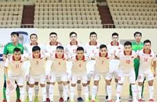 Đội tuyển futsal Việt Nam giành vé dự VCK Futsal World Cup 2021