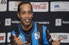 Danh thủ Ronaldinho tiết lộ lý do tới chơi bóng tại Mexico