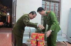 Hà Nội bắt vụ vận chuyển 46,4 kg pháo nổ nhập lậu