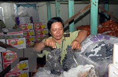 Thị trường Tết ở Hà Nội: Hàng hết hạn nhiều, thực phẩm bẩn tràn lan
