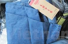 Đột kích lò gia công quần jeans và đồ lót giả thương hiệu nổi tiếng