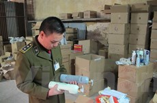 Phát hiện hơn 3.500 đồ mỹ phẩm nhập lậu cất giấu trong kho hàng