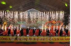 Đại hội cổ đông Hoa Sen quyết định thực hiện dự án thép Ninh Thuận