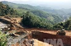 Phát hiện nhiều sai phạm trong sự cố vỡ đập thải quặng ở Nghệ An