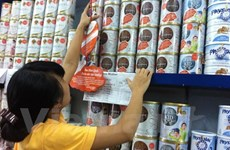 Tám doanh nghiệp kê khai giá sữa dành cho trẻ dưới 6 tuối