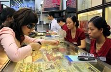 Giá vàng trong nước tiếp tục nhích lên phiên giao dịch cuối tuần