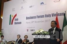 Diễn đàn doanh nghiệp Việt Nam - Italy: Gỡ rào cản để cùng tiến