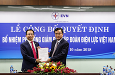 Ông Nguyễn Xuân Nam được bổ nhiệm giữ chức vụ Phó Tổng giám đốc EVN