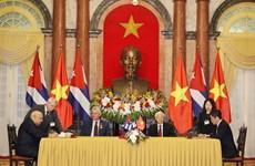 Việt Nam và Cuba chính thức ký kết hiệp định thương mại mới