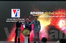 'Bắt tay' với Amazon thúc đẩy xuất khẩu qua thương mại điện tử