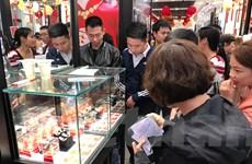 Thương hiệu vàng Rồng Thăng Long của Bảo Tín Minh Châu quay đầu giảm