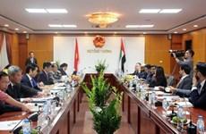 Kỳ họp lần thứ 4 Ủy ban liên Chính phủ Việt Nam-UAE diễn ra vào 18/4