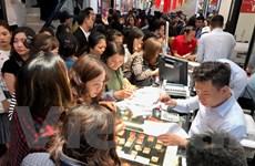 Giá vàng tăng nhẹ, tỷ giá USD tại ngân hàng vượt 23.310 đồng