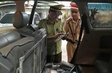 Bắt vụ vận chuyển hơn 500 điện thoại nhập lậu giá trị trên 1 tỷ đồng