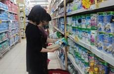 Nhập khẩu sữa và sản phẩm từ sữa tăng 2,4% trong 4 tháng đầu năm