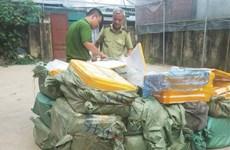 Tạm giữ 1.350kg nầm lợn không hóa đơn chứng từ trên địa bàn Hà Nội