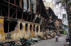 Đề nghị tiến hành tẩy độc sau vụ cháy tại Công ty cổ phần Rạng Đông