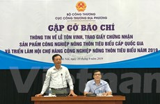 Lựa chọn 110 sản phẩm công nghiệp nông thôn tiêu biểu cấp quốc gia