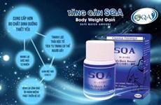 Tổng kiểm tra các cơ sở kinh doanh viên uống tăng cân SQA