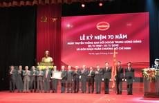 Chặng đường 70 năm Ban Đối ngoại Trung ương: Rạng rỡ sử vàng