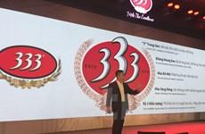 Sabeco tái ra mắt thương hiệu Bia 333 với diện mạo hoàn toàn mới