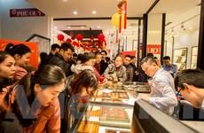 Giá vàng SJC trong nước bật tăng phiên mở cửa ngày cuối tuần