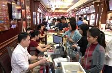 Giá vàng Rồng Thăng Long giảm 80.000 đồng mỗi lượng phiên cuối tuần