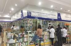 Kiểm tra thông tin kêu gọi không bán khẩu trang ở chợ thuốc Hapulico