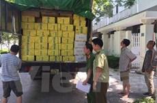 Liên ngành tạm giữ 6 tấn hàng hóa không có hóa đơn chứng từ hợp lệ