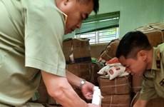Tạm giữ gần 7 tấn nguyên liệu sản xuất Bim Bim không hóa đơn, chứng từ