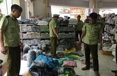 Tạm giữ hàng nghìn sản phẩm nghi giả nhãn hiệu tại tỉnh Bắc Ninh