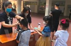 Hà Nội đảm bảo các điều kiện phòng chống dịch trước ngày khai trường