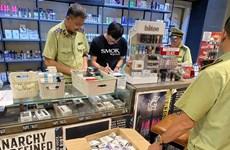 Hà Nội thu giữ gần 1.400 máy hút thuốc lá điện tử và phụ kiện