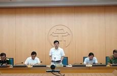 Hà Nội: Phê bình 6 đơn vị không cử lãnh đạo họp phòng chống COVID-19