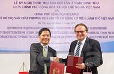 Việt Nam-Belarus thúc đẩy hợp tác trong lĩnh vực sản xuất ôtô