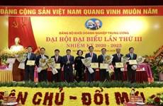 PVN gắn biển 2 công trình dầu khí chào mừng Đại hội Đảng lần thứ XIII
