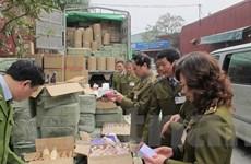 Hà Nội xử lý gần 900 vụ buôn lậu và gian lận thương mại trong quý 1