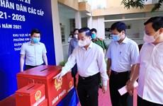 Chủ tịch Hà Nội: Chia nhỏ các tổ để công tác bầu cử không bị gián đoạn