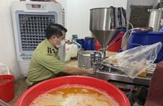 Quản lý thị trường Hà Nội phát hiện một cơ sở sản xuất nước hoa giả